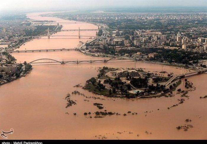 سطح آب رودخانههای خوزستان روبه کاهش است؛ دبی کارون ۵۰۰ مترمکعب بر ثانیه کاهش یافت
