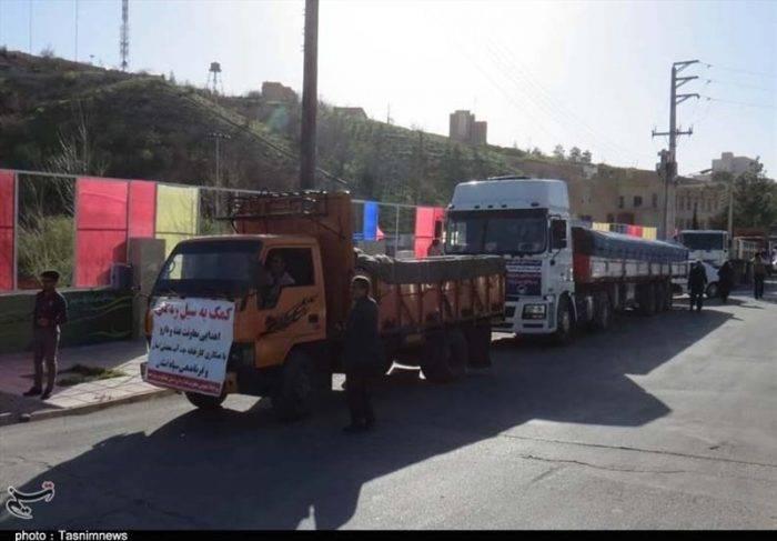 حجم کمکهای ارسالی برای سیلزدگان خوزستان بیش از ظرفیت است