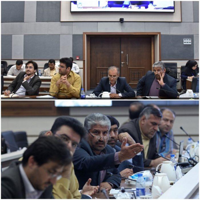 پانزدهمین جلسه شورای آب و برق استان در محل اداره کل مدیریت بحران خوزستان برگزار شد