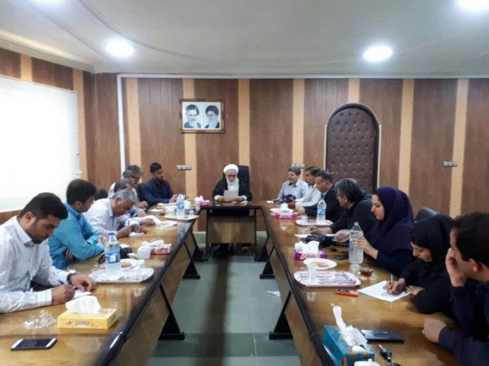 اولین نشست خبری فرماندار مسجدسلیمان