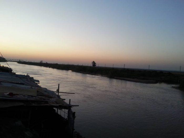 رودخانه کرخه شهربستان