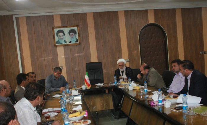 جلسه مشترک سرپرست فرمانداری مسجدسلیمان با مدیرعامل آب جنوب شرق استان خوزستان برگزار شد.
