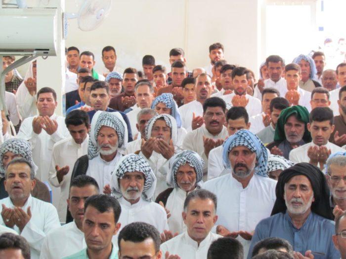 برگزاری نماز عید سعید فطربه طور باشکوه دربستان برگزار گردید