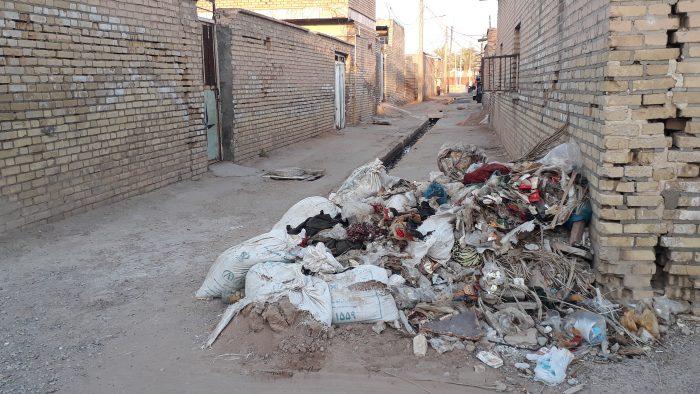 بستان غرق در محرومیت امکانات رفاهی وخدماتی به روایت تصویر