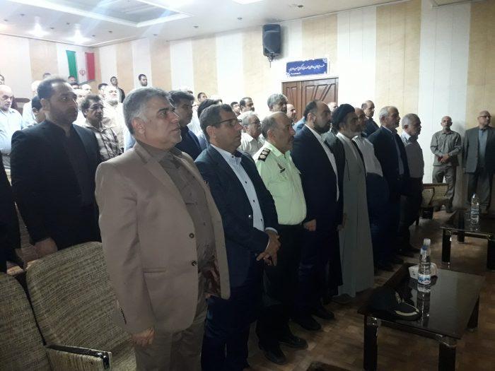 گردهمائی خادمین زوار امام حسین علیه السلام با حضور مسئولین شهرستان شوشتر