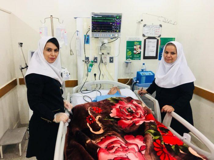 اجرای موفقیت آمیز سومین کد استروک وتزریق داروی TPA دربیمارستان ۲۲ بهمن مسجدسلیمان