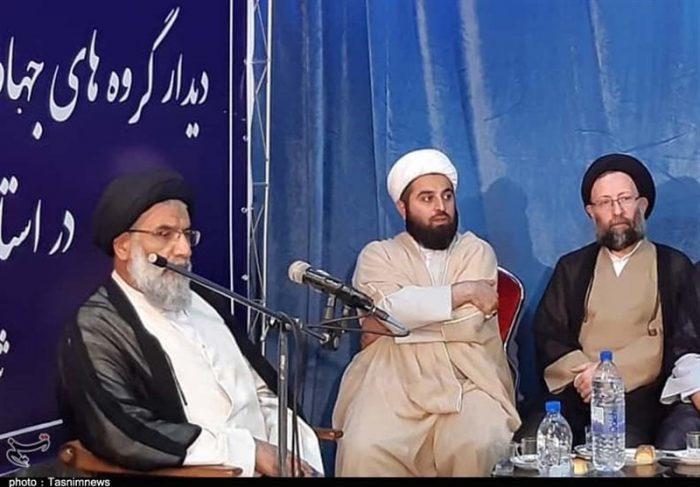 گروههای جهادی با نماینده ولی فقیه در خوزستان دیدار کردند + تصاویر