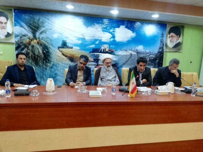 جلسه شورای آموزش و پرورش شهرستان با محوریت آغاز سال تحصیلی جدیدباحضور بیرانوندفرماندار بندر ماهشهر برگزار گردید