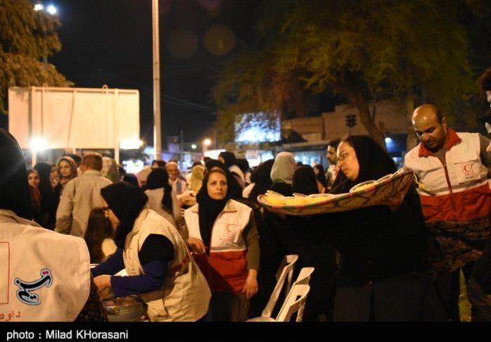 خدمترسانی هلال احمر در مرزهای خوزستان تا ۱۵ آبان ماه تداوم دارد
