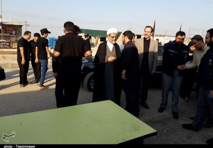 رئیس سازمان تبلیغات اسلامی در جمع خادمان مواکب چذابه حضور یافت