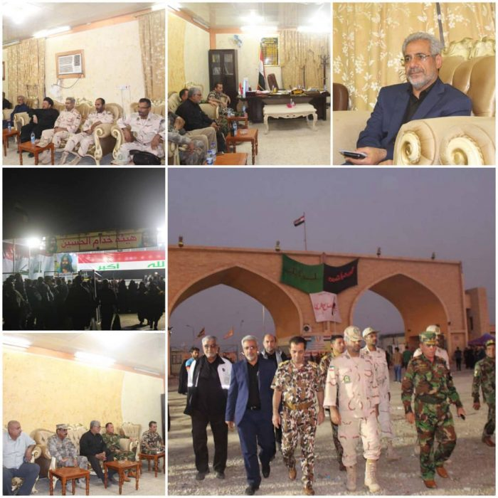 برگزاری نشست مشترک نمایندگان دو کشور ایران و عراق درپایانه مرزی  شیب عراق