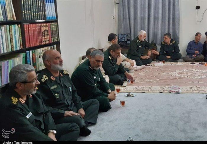 دیدار سردار غیبپرور با نماینده ولی فقیه در خوزستان + تصویر