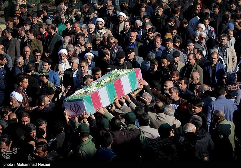 پیکر پاک شهید کیامرت عادلزاده در رامهرمز تشییع شد
