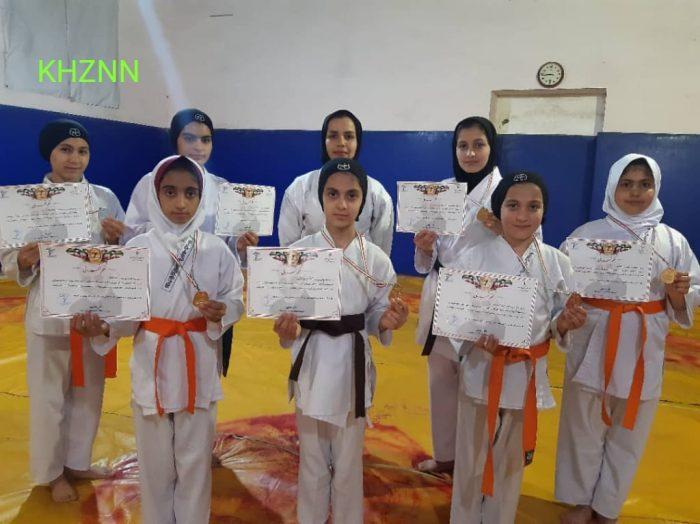 مسابقات قهرمانی و انتخابی تیمی استان خوزستان در اهواز برگزار شد + عکس