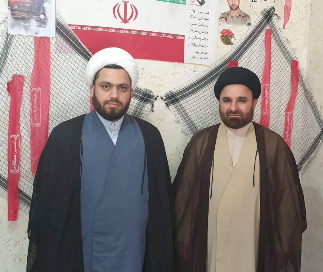 مدیر ستاد هماهنگی کانون های فرهنگی هنری مساجد خوزستان با رییس عقیدتی سیاسی فرماندهی انتظامی کلانشهر اهواز دیدار کرد