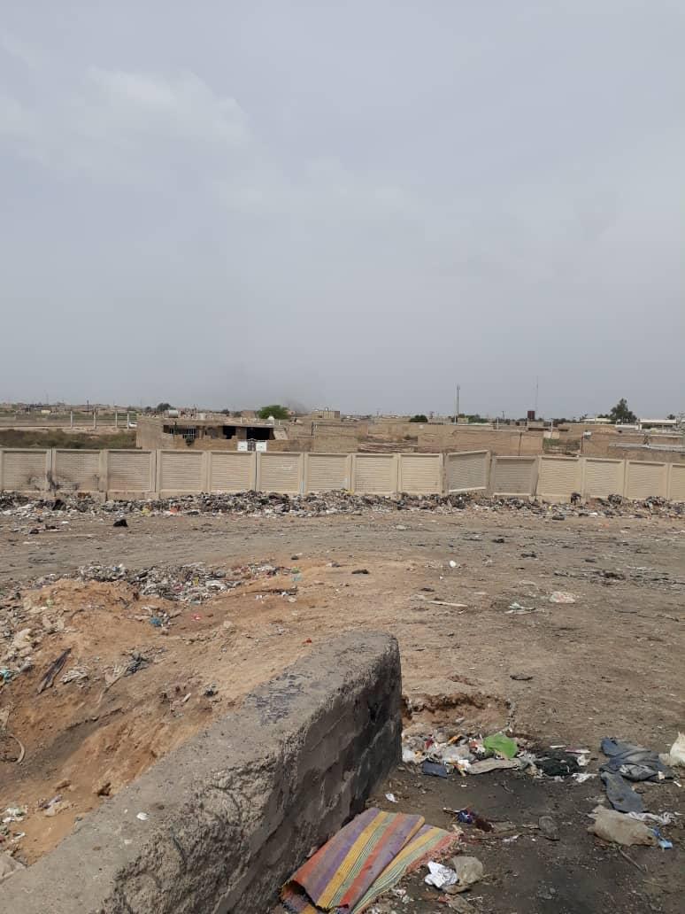 وضعیت بحرانی سکوی زباله شهرستان کارون +تصاویر