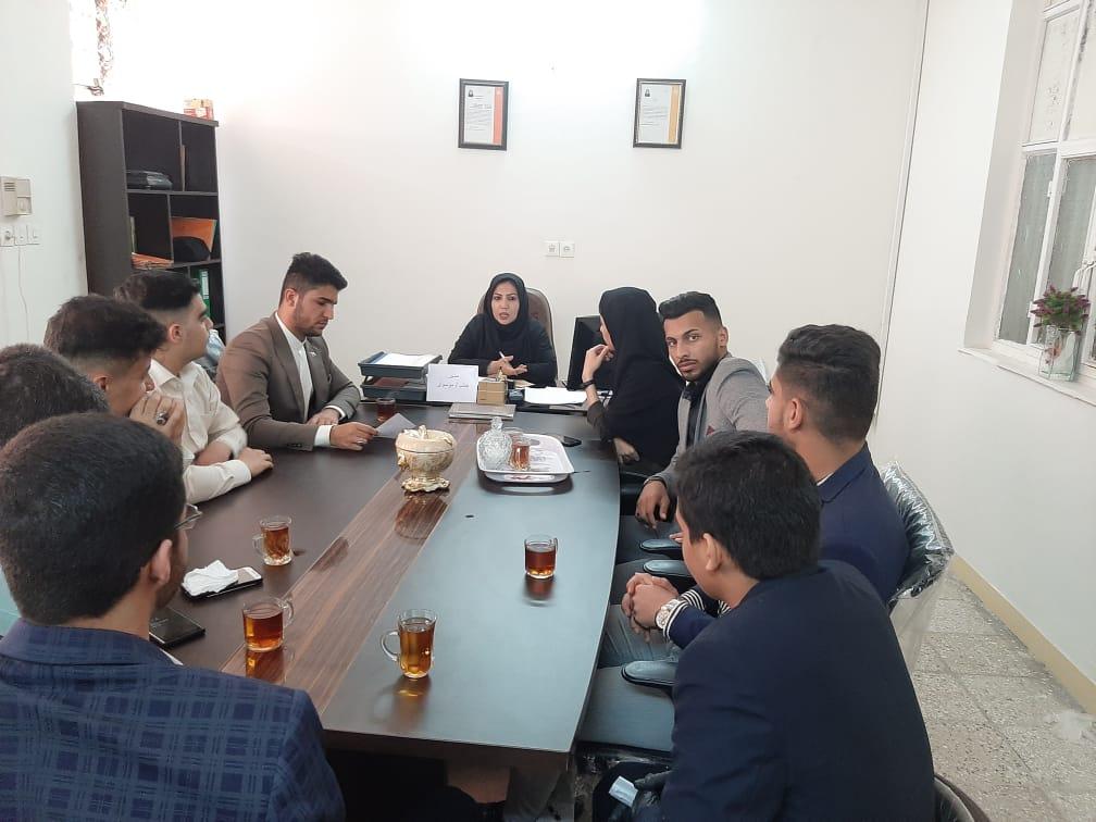 نشست هم اندیشی اعضای انجمن احیاگران طبیعت خوزستان و مدیریت بهزیستی توانبخشی مجتمع نور