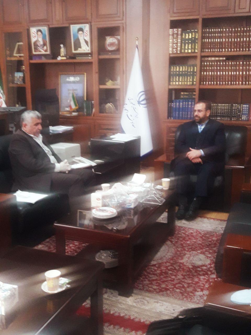 دیدار دکتر علیرضا ورناصری با دکتر امیری معاون پارلمانی ریاست جمهوری