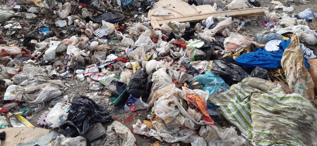 پاکسازی کامل سکوی زباله در قلعه چنعان طی یکماه آینده