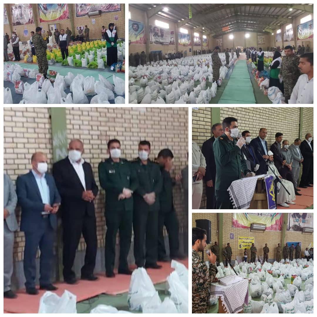 برگزاری مرحله اول رزمایش مومنانه (مواسات) در شهرستان دشت آزادگان