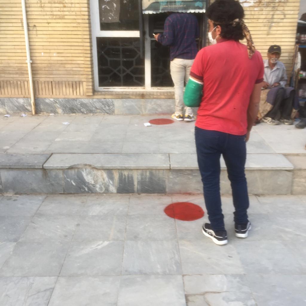شروع فاصله گذاری ونشان گذاری در سطح شهرستان مسجدسلیمان توسط پرسنل زحمت کش شبکه و مرکز بهداشت ودرمان مسجدسلیمان+ تصاویر