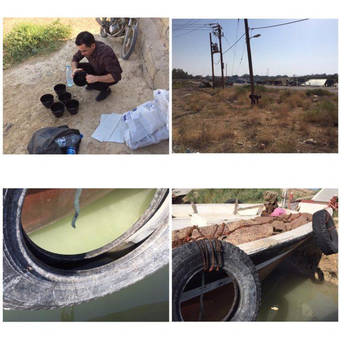 بررسی حشره شناسی در محل پهلوگیری لنجهای شهرستان هندیجان