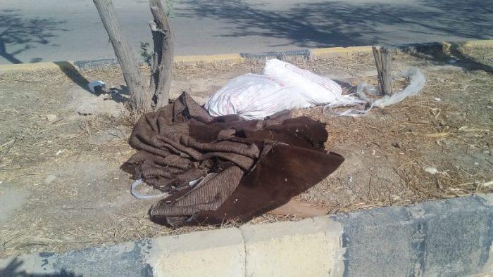 اینجا هندیجان خوزستان است  بی توجهی شهرداری نسبت به جمع آوری زبالهادرسطح شهرستان