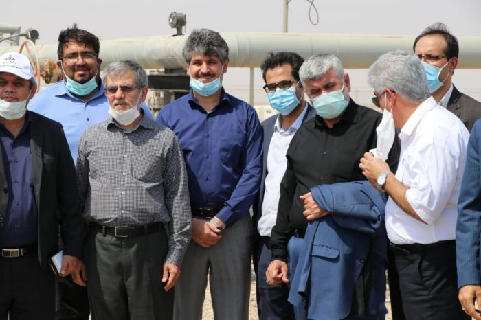 با دعوت دکتر علیرضا ورناصری رئیس کمیسیون انرژی مجلس به استان خوزستان سفر کرد