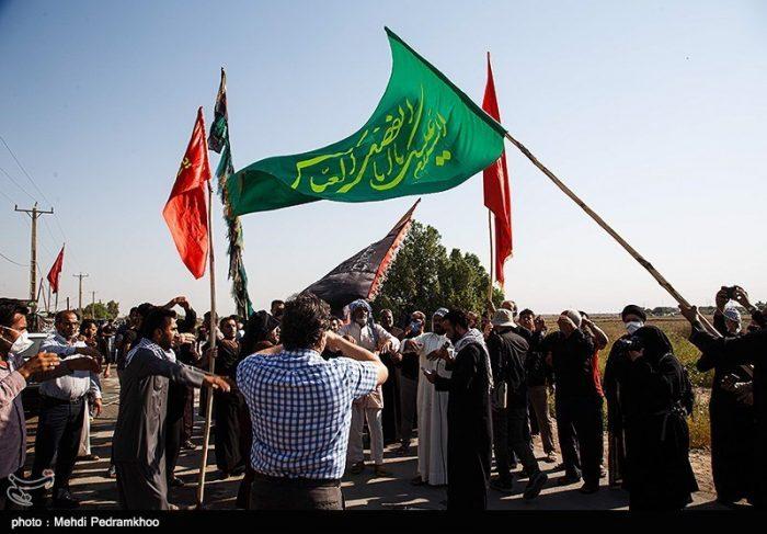 گزارش| دلجویی جوانان اهوازی از مردم روستای ابوالفضل / استمداد مردم روستا از رئیس قوه قضائیه برای رفع مشکل