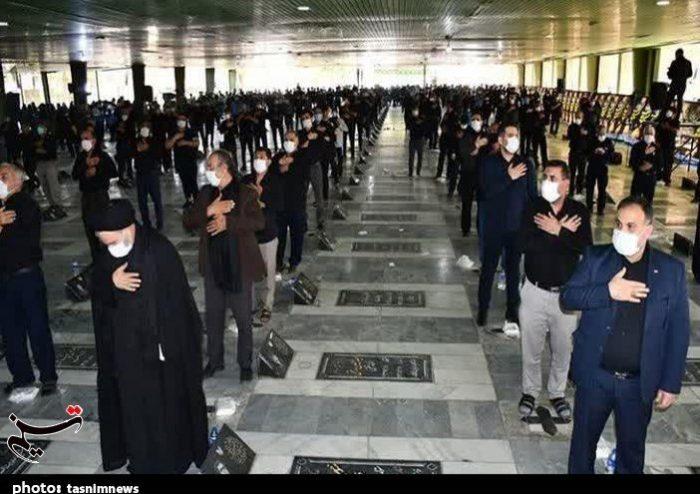 مراسم عاشورای حسینی با رعایت پروتکلهای بهداشتی در شهرستان اندیمشک برگزار شد+تصاویر