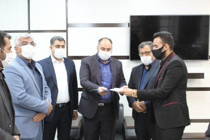 مراسم تودیع و معارفه رئیس اداره ورزش و جوانان کهن شهر شوشتر  برگزارشد