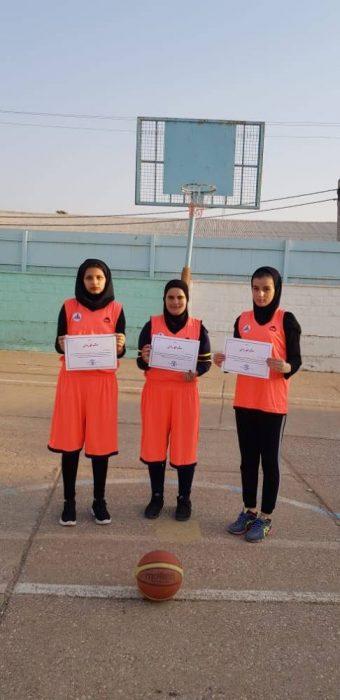 مسابقات بسکتبال سه به سه بانوان شهرستان مسجدسلیمان انجام شد+تصاویر