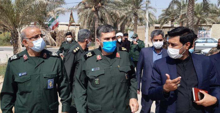 آیین افتتاح پروژه های محرومیت زدایی در شهرستان شادگان بمناسبت هفته دفاع مقدس