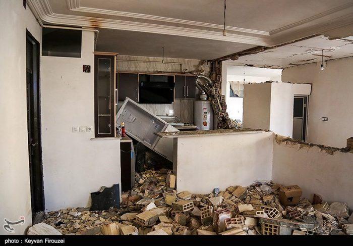 انفجار گاز در منطقه عامری اهواز ۹ نفر فوتی و مصدوم داشت