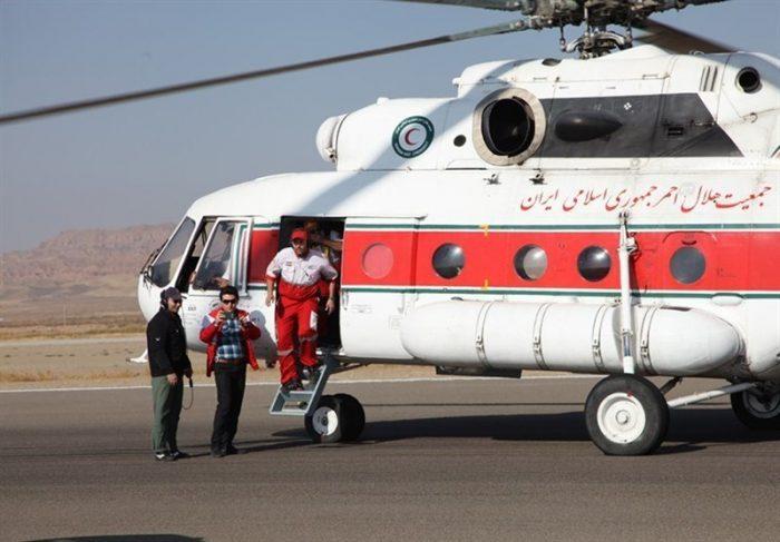 چوپانی پس از ۷ ساعت عملیات امدادی نجات یافت
