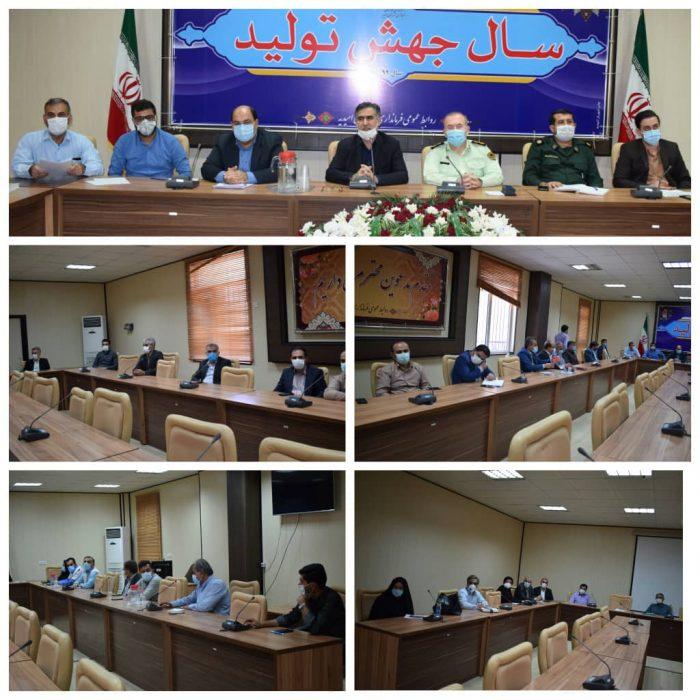 برگزاری همزمان جلسه ستاد کرونا، شورای سلامت و امنیت غذایی در فرمانداری شهرستان امیدیه