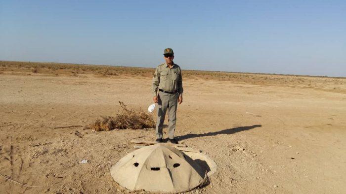 تخریب ۵باب کوخه توسط یگان حفاظت محیط زیست شهرستان هندیجان