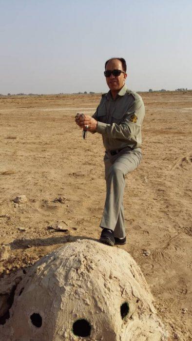 تخریب دوباب کوخه توسط یگان حفاظت محیط زیست شهرستان هندیجان
