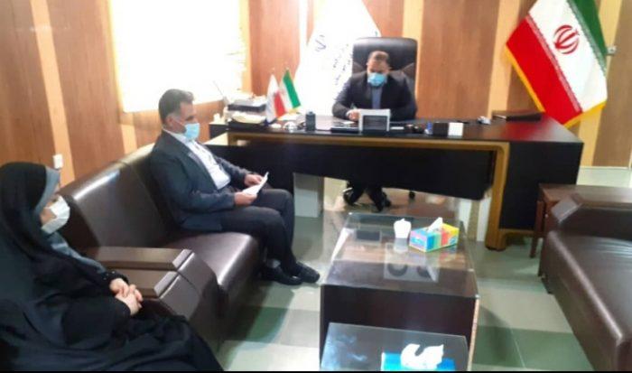 دیدار رئیس و پرسنل اداره بهزیستی با فرماندار مسجدسلیمان