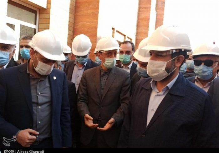 """بازدید رئیس بنیاد مستضعفان از پروژه بیمارستان """"آیتالله طالقانی"""" آبادان"""