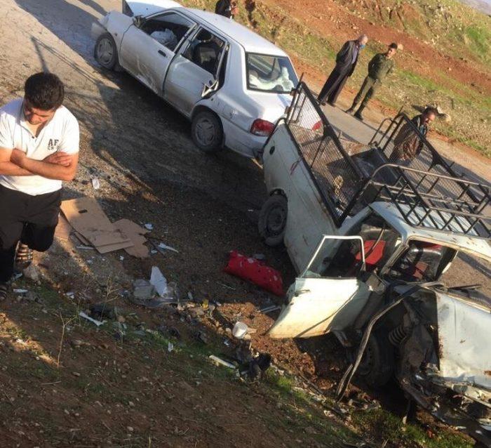 تصادف مرگبار در محور مسجدسلیمان — اندیکا