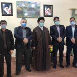 دیدار اعضای شورای اسلامی شهر با امام جمعه جدید مسجدسلیمان