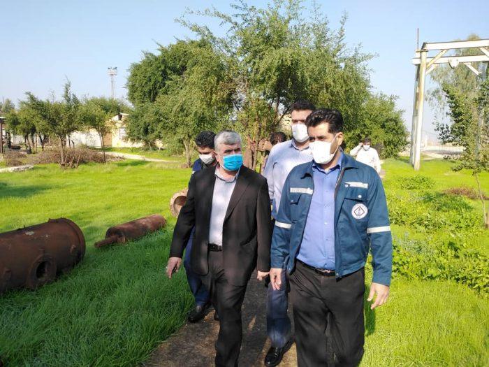 بازدید علیرضا ورناصری از موزه صنعت نفت مسجدسلیمان / از هیچ کوششی در جهت توسعه پروژه های صنعت نفت دریغ نخواهم کرد + تصاویر