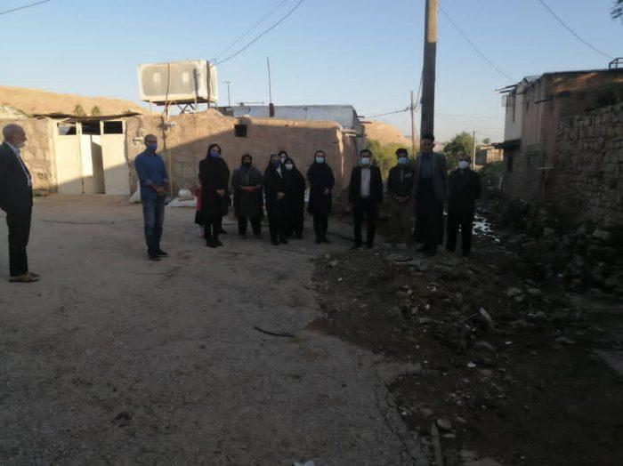 عجیب اما واقعی محله ای در مسجدسلیمان که ۲۴سال بدون آسفالت است