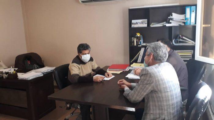 امیدیه:پروژه مسکن مهرشهرستان امیدیه باکندی درحال اجرامی باشد