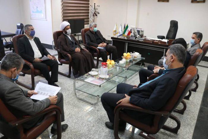 جلسه دکتر علیرضا ورناصری با مدیرکل کمیته امداد استان خوزستان برگزار شد