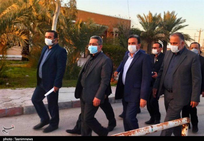 وضعیت بیمارستانی شهرستان رامشیر خوزستان ارتقا پیدا میکند