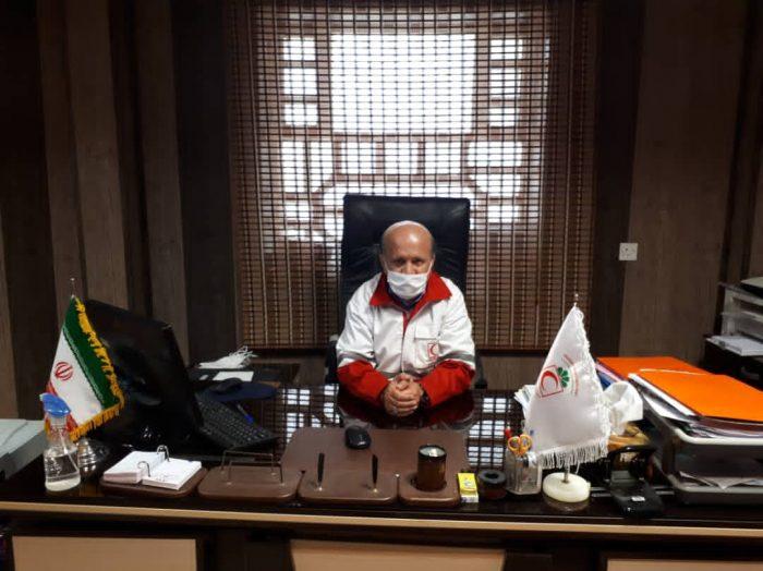 رئیس جمعیت هلال احمر شهرستان هندیجان خبر داد