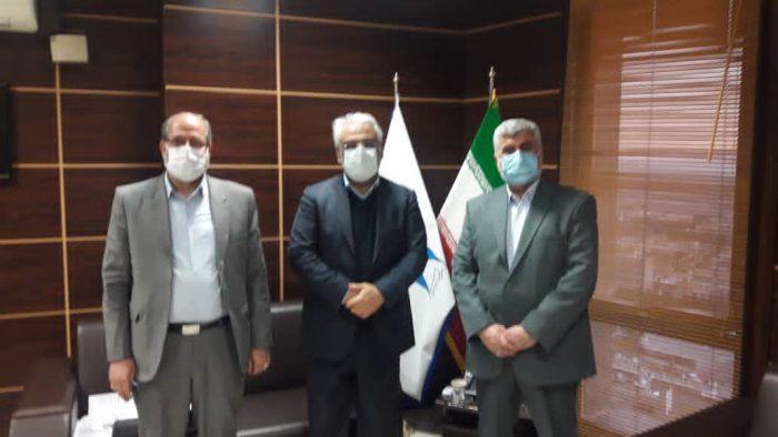 جلسه دکتر علیرضا ورناصری با دکتر حسینی رئیس سازمان آموزش و پرورش استثنایی + تصاویر
