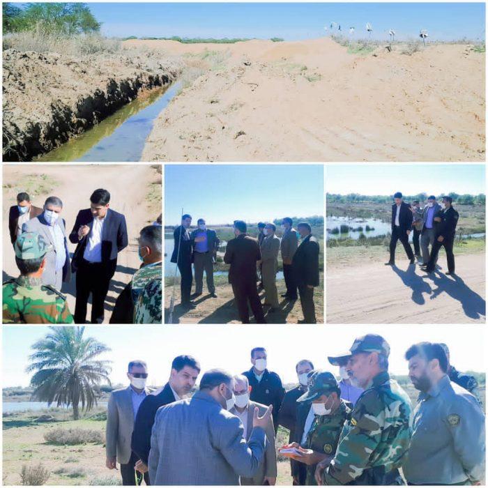 ویژه | برخورد قانونی با زمین خواری در شهرستان حمیدیه + تصاویر